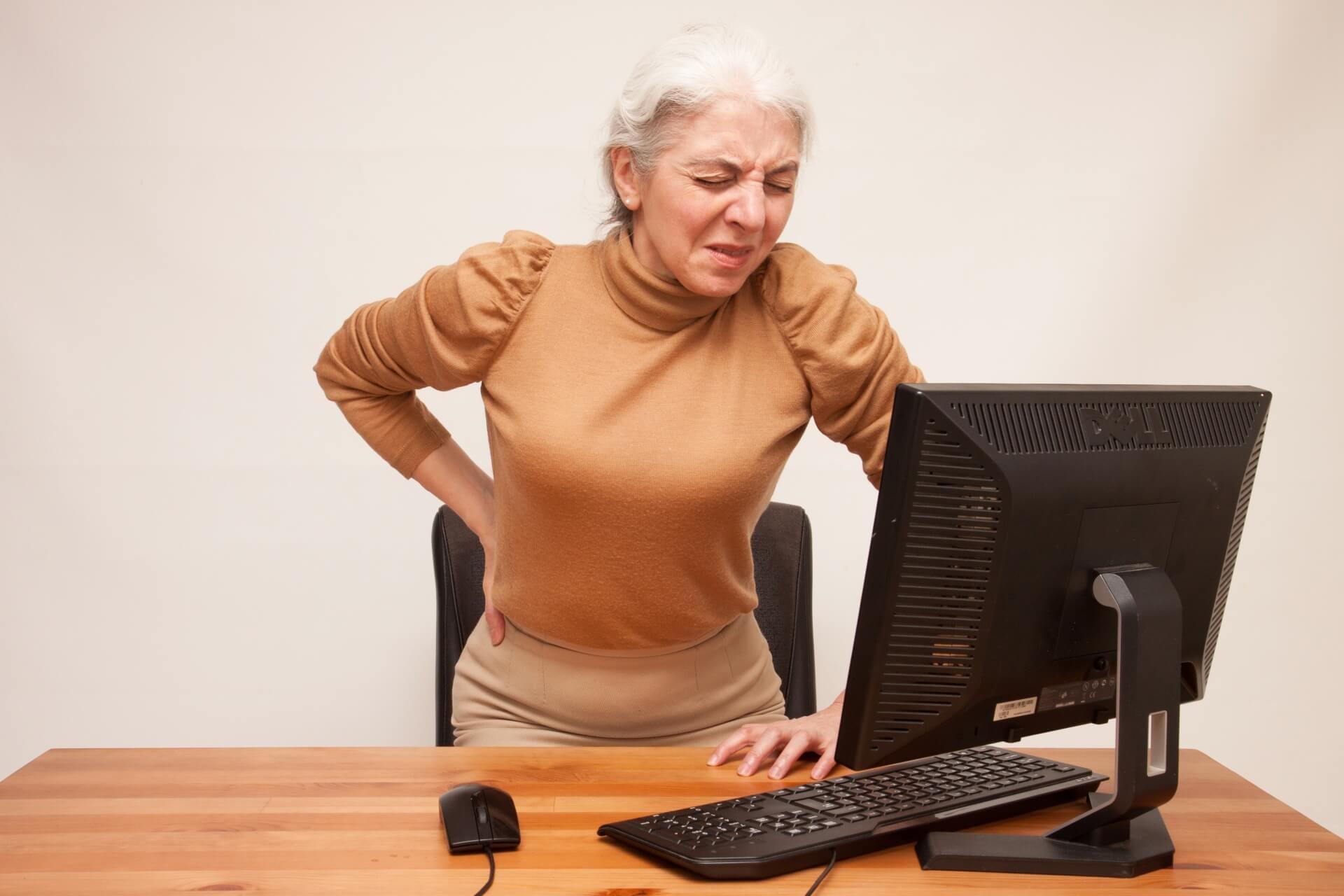 慢性腰痛の施術方法