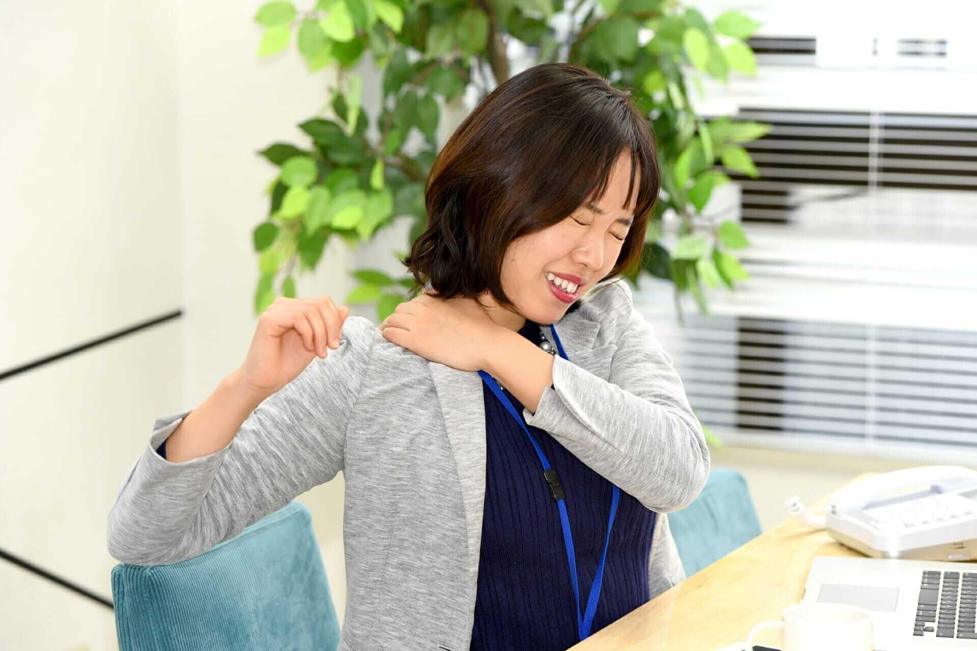 肩こりの施術方法