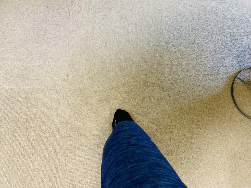 正常な膝の曲がり方