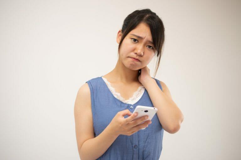スマホ首やストレートネックの解消ストレッチ|チェック方法や治し方