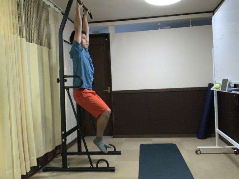 ぶら下がり健康器の効果はいかに!?|肩こり・腰痛・筋トレ・引きしめ
